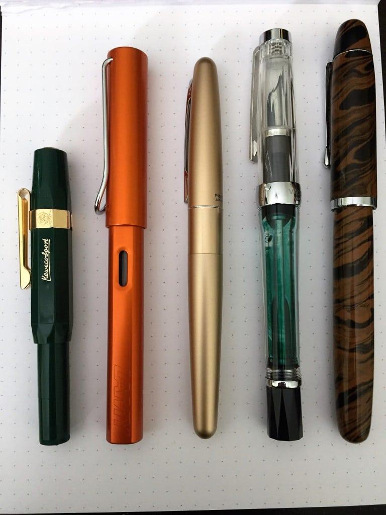 SO sánh bút máy kaweco sport