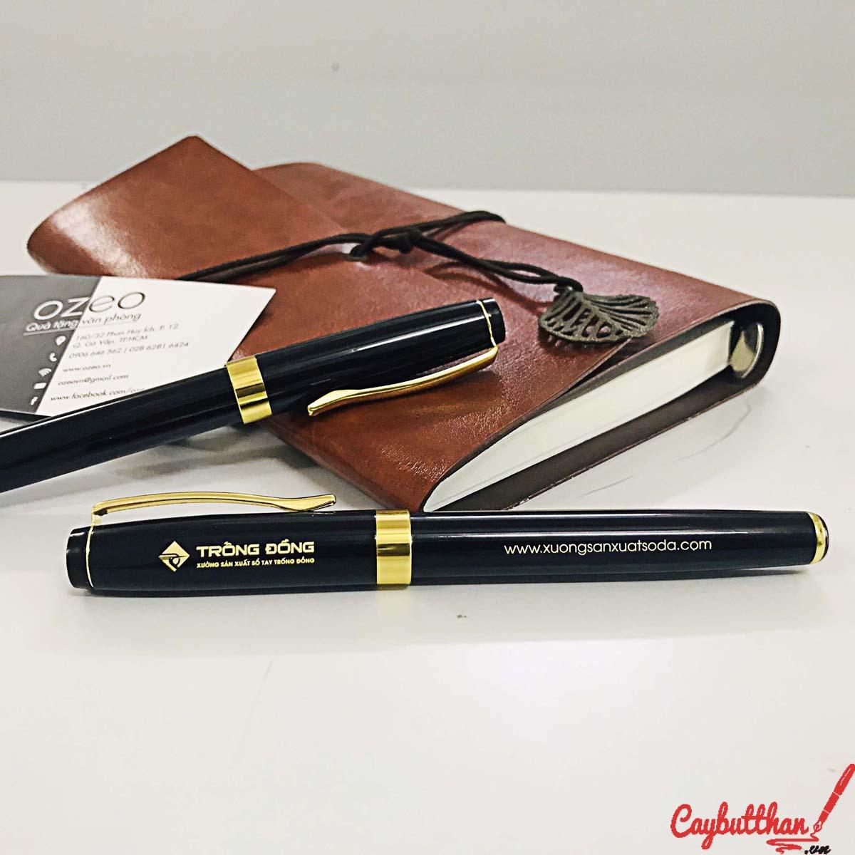 Bút ký BK011 – bút kim loại khắc tên, khắc logo theo yêu cầu làm quà tặng